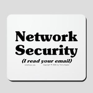 Network Sec. Mousepad
