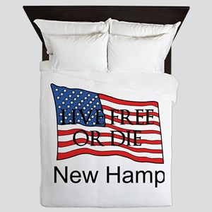 New Hampshire Queen Duvet