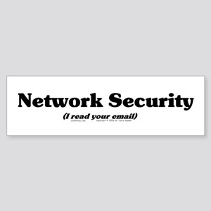 Network Sec. Bumper Sticker