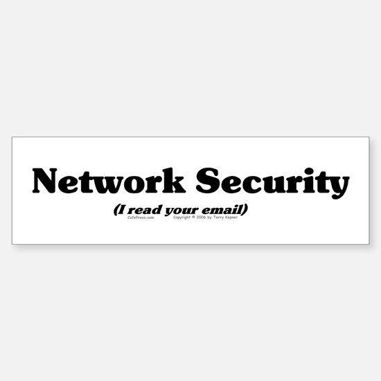 Network Sec. Bumper Bumper Bumper Sticker