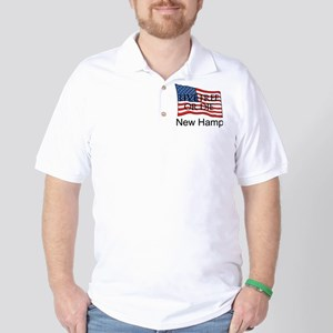 New Hampshire Golf Shirt