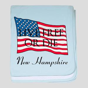 New Hampshire baby blanket