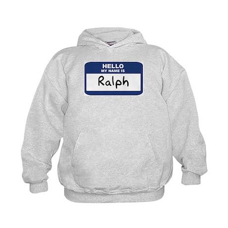 Hello: Ralph Kids Hoodie