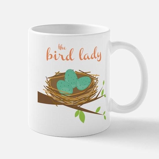 The Bird Lady Mug