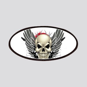 Skull, guitars, and wings Patches