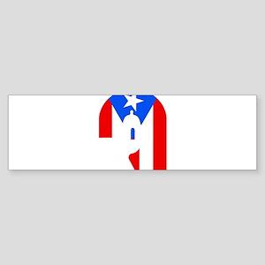 puertorico3 Bumper Sticker