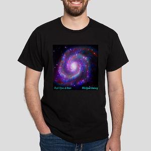 M51 - Whirlpool Galaxy Dark T-Shirt