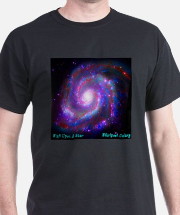 M51 - Whirlpool Galaxy T-Shirt