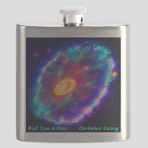Cartwheel Galaxy Flask
