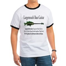 Largemouth Bass Guitar T-Shirt