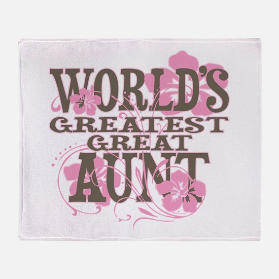 Great Aunt Throw Blanket
