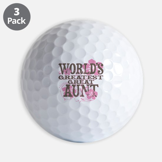Great Aunt Golf Ball