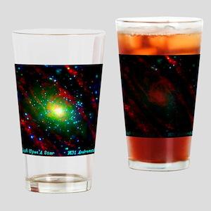 M31 Andromeda Galaxy Drinking Glass