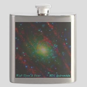 M31 Andromeda Galaxy Flask