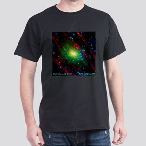 M31 Andromeda Galaxy Dark T-Shirt