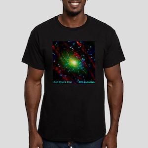 M31 Andromeda Galaxy Men's Fitted T-Shirt (dark)