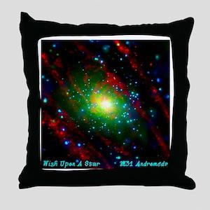M31 Andromeda Galaxy Throw Pillow