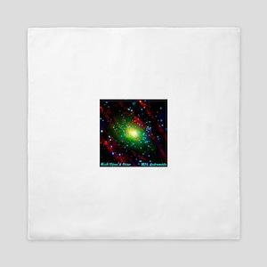 M31 Andromeda Galaxy Queen Duvet