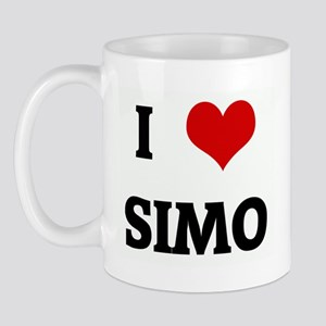 I love simo gifts cafepress i love simo mug thecheapjerseys Choice Image
