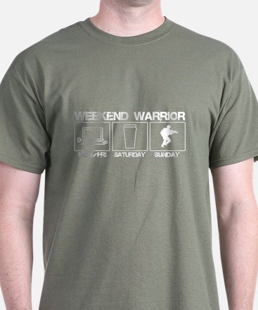 Weekend Warrior Airsoft T-Shirt