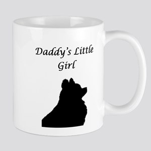 Daddys LIttle Girl Silhouette Mug