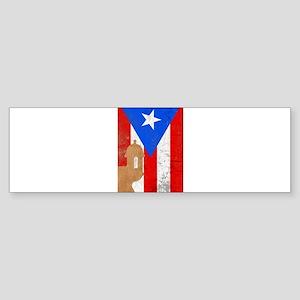 Puerto rico el moro Bumper Sticker