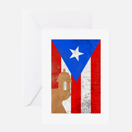 Puerto rico el moro Greeting Card