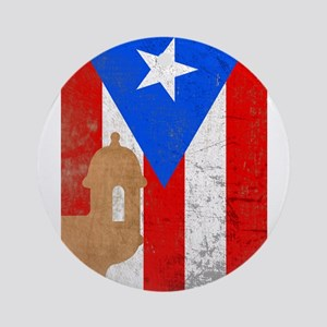Puerto rico el moro Ornament (Round)