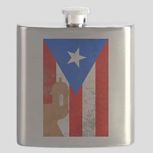 Puerto rico el moro Flask