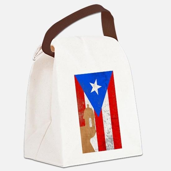 Puerto rico el moro Canvas Lunch Bag