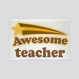 Awesome Teacher Rectangle Magnet