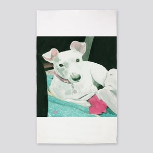 Jack Russell Terrier Sully 3'x5' Area Rug