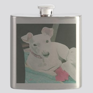 Jack Russell Terrier Sully Flask
