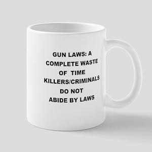 gun laws Mug