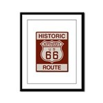 Summit Route 66 Framed Panel Print