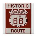 Summit Route 66 Tile Coaster