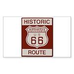 Summit Route 66 Sticker