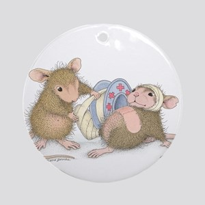 Ouch Ornament (Round)