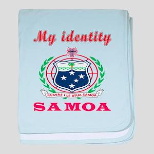 My Identity Samoa baby blanket