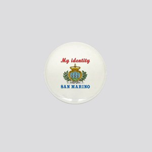 My Identity San Marino Mini Button