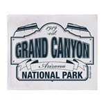 Grand Canyon National Park Throw Blanket