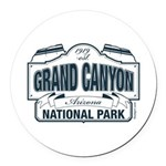 Grand Canyon National Park Round Car Magnet
