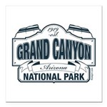 Grand Canyon National Park Square Car Magnet 3&quo