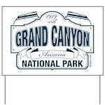 Grand Canyon National Park Yard Sign