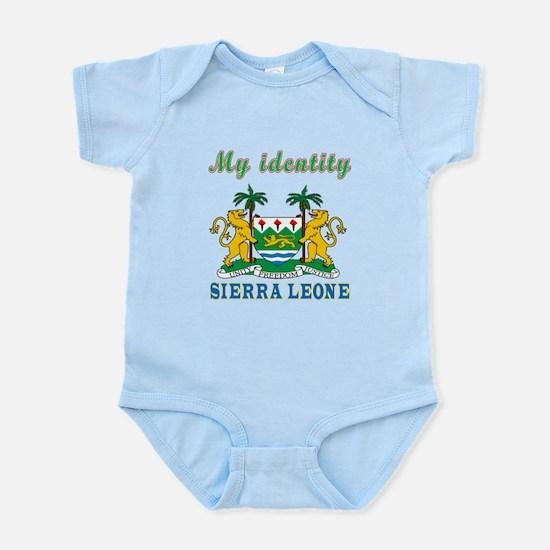 My Identity Sierra Leone Infant Bodysuit