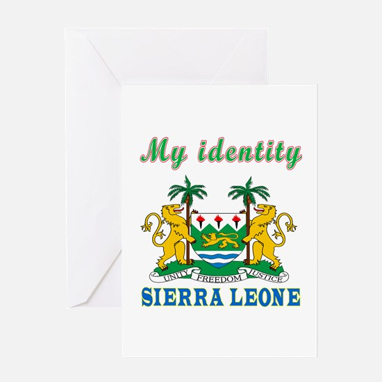 My Identity Sierra Leone Greeting Card