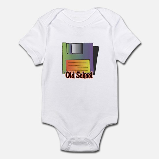 Old School Floppy Disk Infant Bodysuit