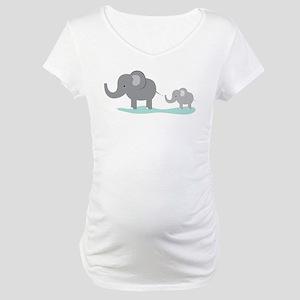 Elephant Maternity T-Shirt