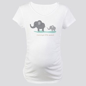 Mommy's Little Peanut Maternity T-Shirt