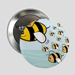 """Queen Bee 2.25"""" Button"""